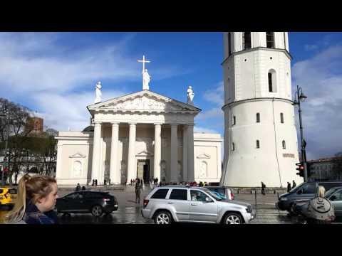 The City of Vilnius, Lithuania.