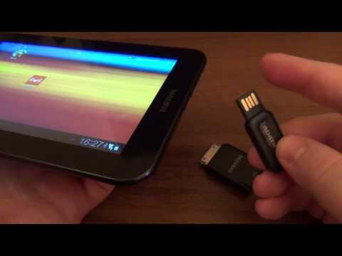 Как подключить флешку к планшету