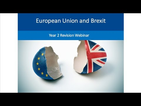 Brexit and the UK Economy