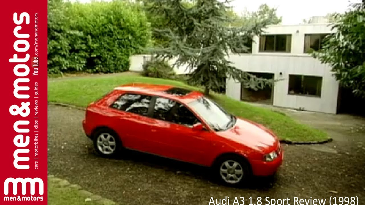 audi a3 1 8 sport review 1998 youtube. Black Bedroom Furniture Sets. Home Design Ideas