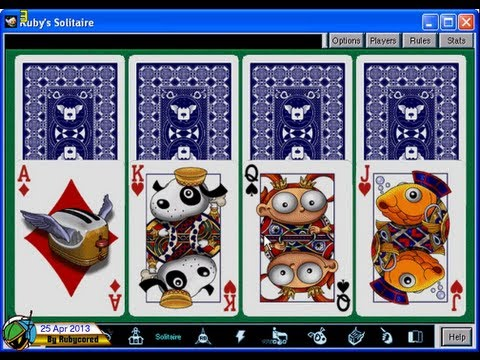 After Dark Games (1998, PC) - 02 of 10: Solitaire [720p]