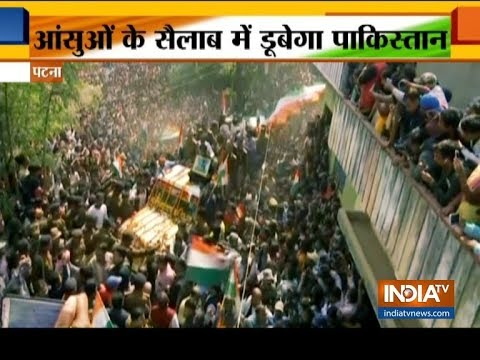 India bids tearful adieu to 40 CRPF martyrs
