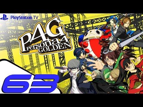 Persona 4 Golden - Walkthrough Part 63 - Finding The Gas Attendant (Izanami)