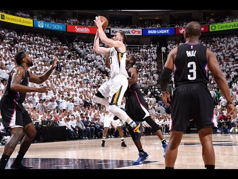 Gordon Hayward Scores A Playoff Career High 40 Points in Game 3 | April 21, 2017