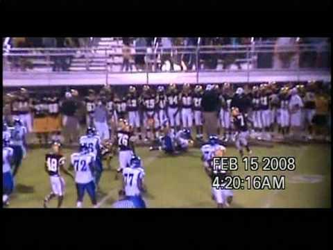 D'eirren Scruggs (fullback) highlights #9/12 _ Hamilton high School