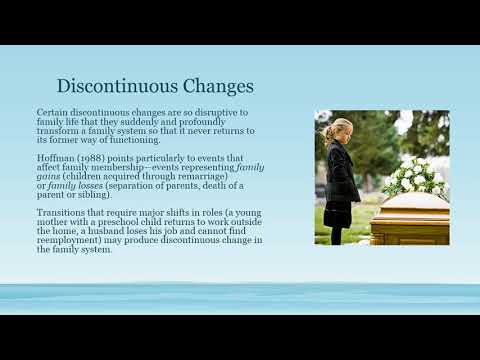 Family Life Cycle System: Continuity and Change