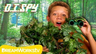 How to Spy in Camouflage! (DIY Camo Binoculars) | D.I.SPY