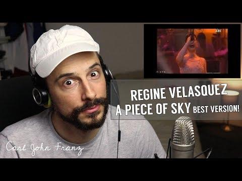 Vocal Coach REACTION, Regine Velasquez, A Piece Of Sky (BEST VERSION!)