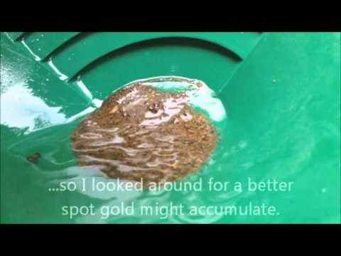 Gold Panning in Puerto Rico