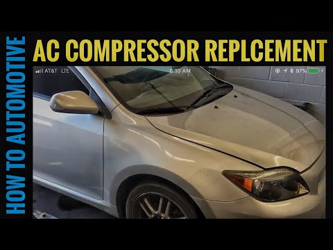 How to Replace the AC Compressor on a 2005 Scion TC