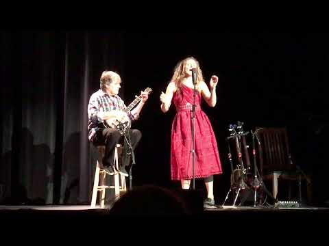 Bela Fleck and Abigail Washburn, Colorado College, 9617