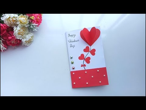 Handmade Card For Valentines Day | Tutorial