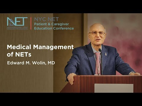 Ed Wolin, MD, KEYNOTE  Medical Management of NETs