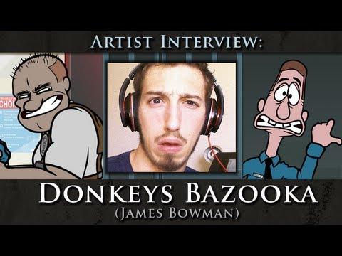 Artist Interview: Donkeys Bazooka (James Bowman)