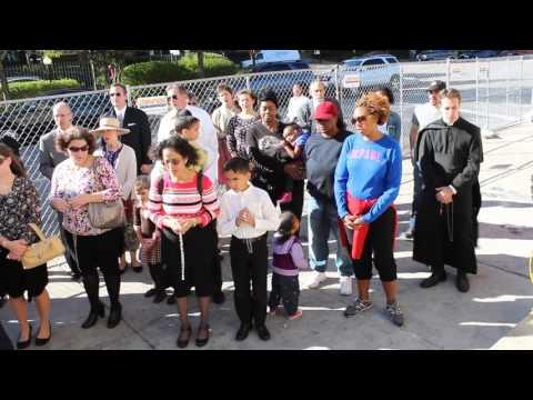 Shrine of Christ the King Community Prayer Rally for Resurrection