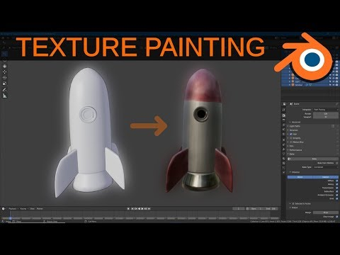 Blender 2.8 For Beginners: Texture Painting