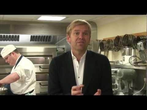 Bill Granger visits the Royal kitchens at Buckingham Palace