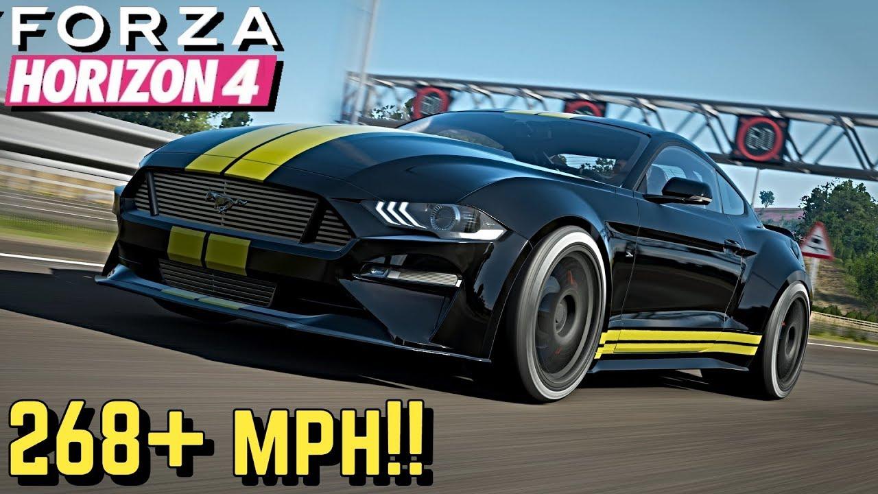 Forza horizon 4 268 mph deberti mustang gt tutorial
