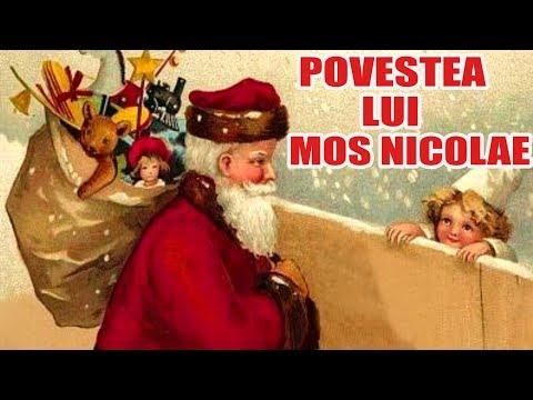 Povestea lui Mos Nicolae – povesti pentru copii de Mos Nicolae