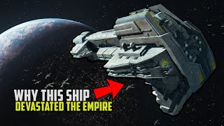 Why the Empire was AFRAID of the Starhawk Battleship | Star Wars Squadrons