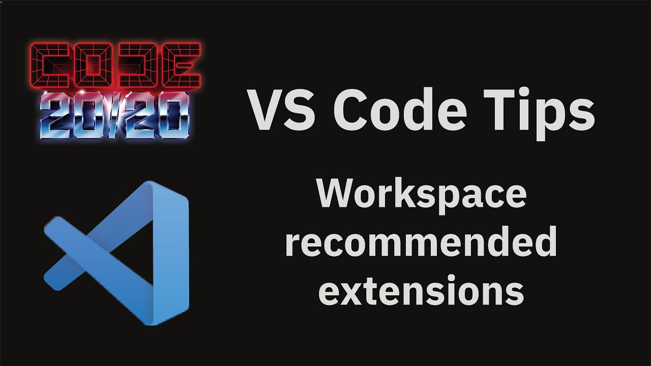 Workspace recommended extensions