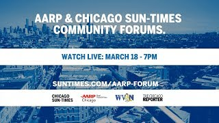 LIVE: AARP & Chicago Sun-Times community forum: Arturo Velasquez Institute