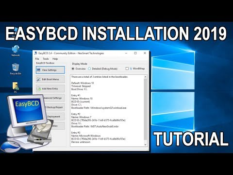 EasyBCD Dual Boot - Complete Installation Guide And Overview 2019