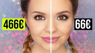 TEUER vs GÜNSTIG - High End vs Drogerie Makeup!