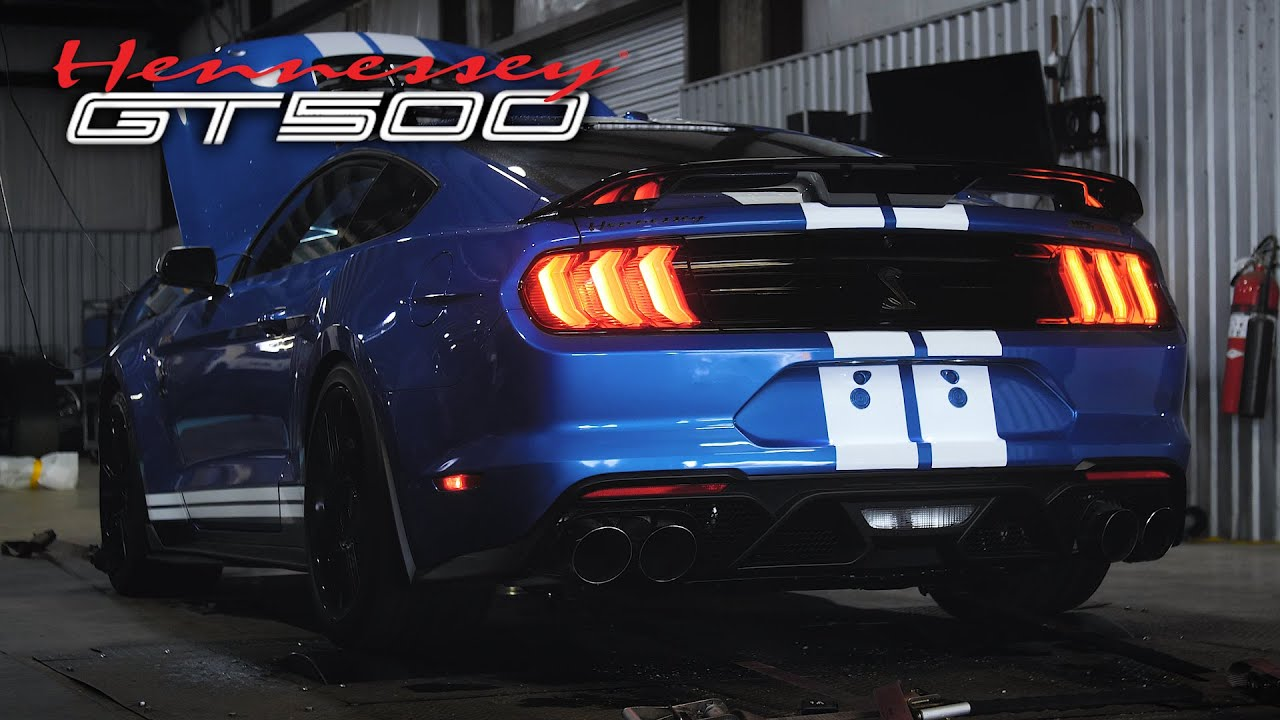 Venom 1000 Dyno Testing 2020 Mustang Gt500 Performance Upgrade Youtube
