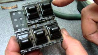 1995 JEEP Cherokee  Power Window Switch Repair