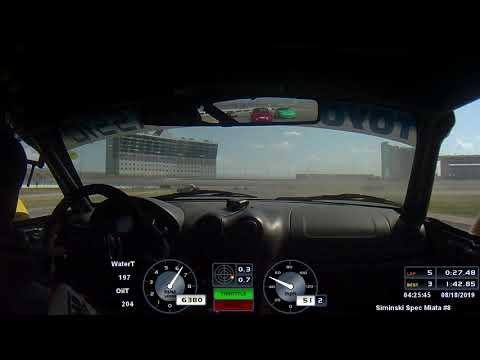 Texas Motor Speedway Spec Miata Saturday Race 8 17 19