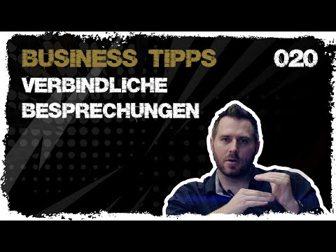 business tipps #020: Besprechungen: regelmäßig und verbindlich