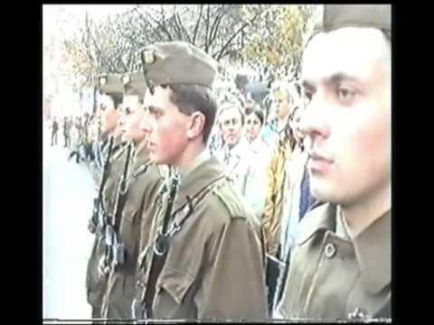 Vojenská přísaha Hodonín 28 10 1994