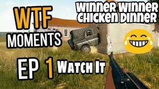 PUBG Funny WTF Moments (Part-1)