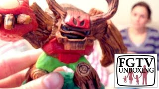 Skylanders Giants Starter Pack Unboxing, Treerex, Game and new Portal (FGTV 2.42)