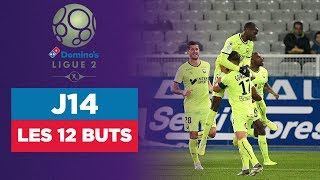 VIDEO: Domino's Ligue 2 (J14) : Les 12 buts de la soirée !
