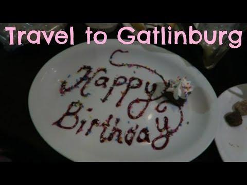 Travel to Gatlinburg, Ripley's Aquarium & Birthday Dinner | March 2018
