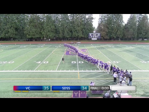2018 BC High School Football: Vancouver College vs South Delta