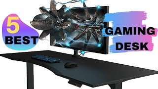 Best Desks for Gaming in 2019 | 5 Best Gaming Desk for Console & PC Gamers