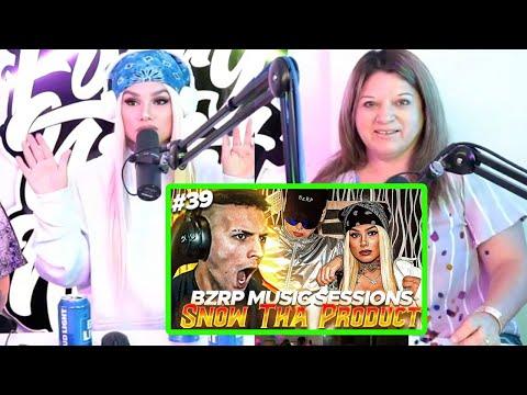 Snow Tha Product REACCIONANDO a Coscu REACCIONANDO a BZRP Music Sessions #39