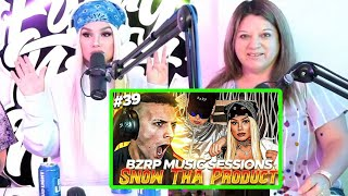 Snow Tha Product REACCIONANDO a Coscu REACCIONANDO a BZRP Music Sessions #39