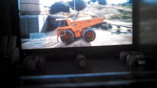 Dump truck jump on GTA 5