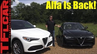 2018 Alfa Romeo Stelvio Review: The Alfa Performance Crossover Is Here!