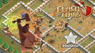 Fazendo a campanha dos goblins no cv9 parte 4 - Clash of Clans