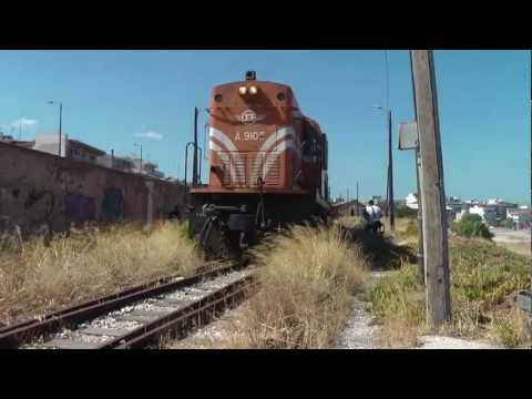 Spap freight with Alco A9101 and A9105 from Korinth to Tripolis,Part1...