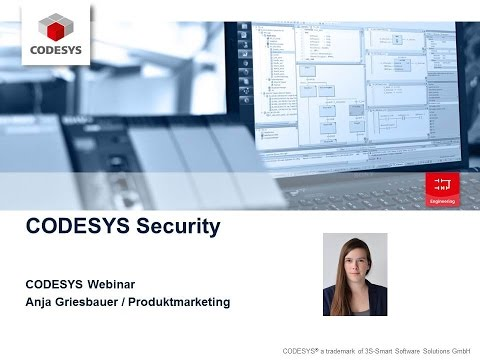 Webinar CODESYS Application Security (E)