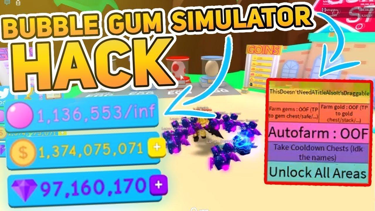 Omg Bubble Gum Simulator Roblox Hack Script Teleport Auto Sell