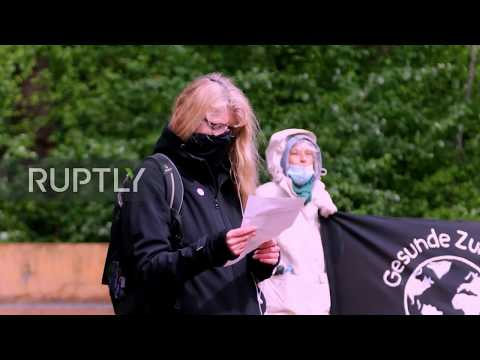 Germany: Anti-fascist Protesters Rally In Hamburg On May Day