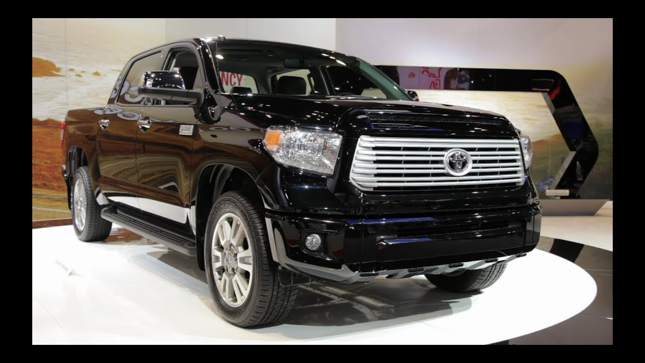 2014 Toyota Tundra - 2013 Chicago Auto Show - YouTube