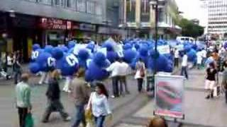 Essen 01.06.07 - CO2 Protest - Movie 2